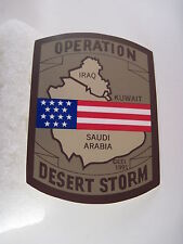 US Desert  Storm  service  decal  front stick
