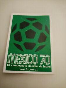 Panini Mexico 86 World Cup Sticker Mexico Poster
