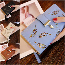 Fashion Women Lady Leather Wallet Long Card Holder Coin Clutch Purse Handbag Bag