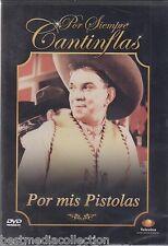 SEALED - Por Mis Pistolas DVD NEW ORIGINAL Mario Moreno Cantinflas POR SIEMPRE