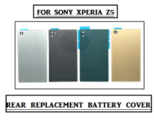 For Sony Xperia Z5 Replacement Battery Back Rear Glass Cover  UK STOCK
