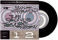 """Man or Astro-Man? """"The Sounds of Tomorrow"""" 7"""" Supernova Servotron Aquabats OOP"""