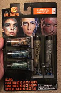 Halloween Glitter Gel Make-Up Kit