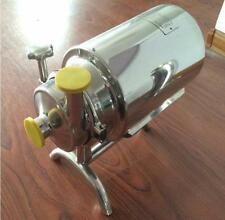 Stainless Steel Sanitary Pump Sanitary Beverage Milk Delivery Pump 3T/h 0.75KW Y