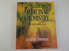 Medicinal Chemistry An Introduction Gareth Thomas 1st Edition Wiley & Sons 2000