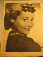 Hannelore Schroth,Film,Starbild aus Filmwoche von ca.1940-Star advertising