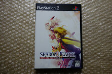 """Shadow Hearts: From the New World PS2 """"Good Condition"""" Sony Playstation2 Japan"""