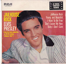 ELVIS PRESLEY Jailhouse Rock EP - Gold Label