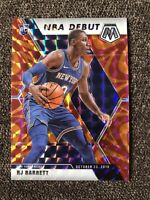 2019-20 Mosaic RJ BARRETT Reactive Orange Prizm NBA Debut KNICKS