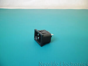 Corcom 6ESRMC2 15 A IEC 60320/C-14 Unfiltered Inlet (Male)