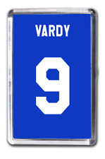 Jamie Vardy Leicester City Number 9 Football Shirt Fridge Magnet Design