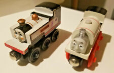 Thomas The Train Wooden Railway Tank Trains FEARLESS FREDDIE & STANLEY ENGINES