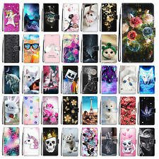 For LG Stylo 4/Stylo 5 Pattern Leather Wallet Stand Flip Card Slot Case Cover