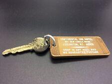 Vintage Continental Inn Motel Lexington KY Room Key 441 Holiday Inn Plastic