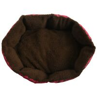 1X(Haustier Hund Katze Bett Weiches Nest Welpen Kissen Warme Zwinger Matte 2C5)