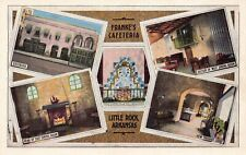 Postcard Multiple Views Franke's Cafeteria in Little Rock, Arkansas~124610