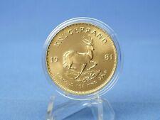 1 Unze Goldmünze Krügerrand 31,1 Gramm Feingold 1 Oz ,sofort lieferbar!