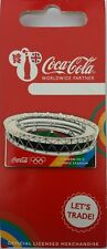 OFFICIAL COCA COLA LONDON 2012 OLYMPIC STADIUM PIN BADGE BRAND NEW