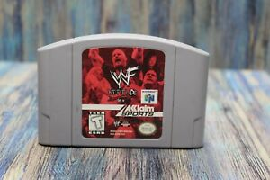 Nintendo N64 WWF Attitude Tested Working Authentic