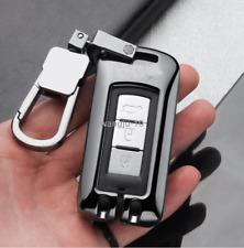 For Mitsubishi Outlander 2016-2019 Smart Key Black Aluminum Case Cover Holder