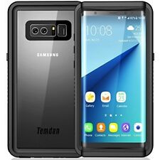 Samsung Galaxy Note 8 Waterproof Case With Built In Screen Protector Cover Black