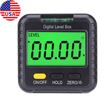 Magnetic Digital Level And Angle Finder Protractor Inclinometer Bevel Gauge Tool