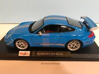Maisto 2011Porsche 911 GT3 RS 4.0 2020 Special Edition New Release Blue  #31703