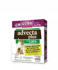 NIB Advecta II Flea Treatment 4 Month Supply Cats 5 to 9 pounds