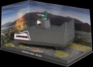 JAMES BOND 007 film models DR. NO Sunbeam Alpine Chevrolet Bel Air  Dragon tank