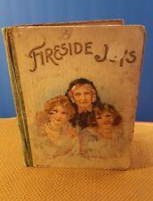 Fireside Joys Antique Children's Book Donohue & Henneberry
