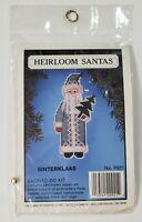 Heirloom Santa's Sinterklaas New Vintage Cross Stitch Kit Willmar Crafts Corp