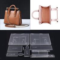 12 teilige/Set Leder Handwerk Acryl Schablone Schneideisen Werkzeugset für