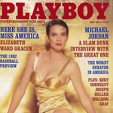 1992 Playboy Sexy Anna Nicole Smith Michael Jordan Elizabeth Ward Gracen 1990s
