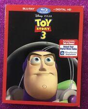 Toy Story 3  (Blu-ray/Digital HD, 2015) NEW w/ Slipcover; Disney-Pixar Re-issue