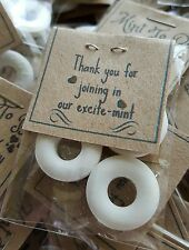 Personalised mints  wedding etc, 'Mint to be' - Sweets- Mints -KRAFT CARD