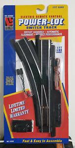 Life-Like Trains HO Switch Track Power Loc Left Hand 21306 Factory - HO Scale