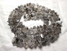 8-12 mm Nappe Type Double Terminaison rutialted quartz collier Pakistan