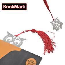 2 Pack Cute Owl Bookmark Notepad Memo Stationery Book Tags Student Supplies