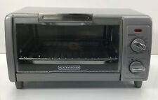 Black + Decker, 4 Slice Toaster Oven, TO1700SG, Grey
