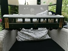 LGB  3167 RhB Personenwagen grün 2 Klasse, bespielt aber gut erhalten