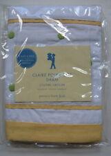 Pottery Barn Kids Claire Polka Dot Sham Embroidered White NIP New