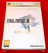 FINAL FANTASY XIII 13 Edizione Limitata XBOX 360 Vers Italiana ○ COMPLETO - FG