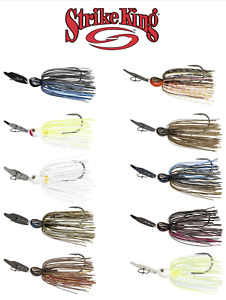 strike king thunder cricket vibrating bladed swim jig sizes colors FREE SHIPPING