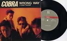 """COBRA-wrong way 7"""" Giappone punk oi! Laughin 'Nose sa Strong Style Wanderers"""