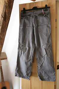 Tchibo Girls Grey Trousers age  approx 11 yrs (146 - 152 cms)