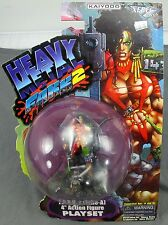 Heavy Metal Fakk2 Julie 4'' Action Figure Playset 1999 Art Asylum Xebec Toys NEW