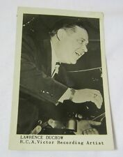 Lawrence Duchow Polka Band Leader Wisconsin RCA Victor Photo Postcard   T*