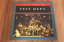 Test Dept. - A Good Night Out (1987) (LP) (Ministry Of Power ‎– MOP 3)