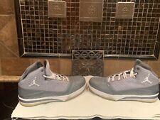 Air Jordan Melo B'Mo Mens sz 11 Basketball Shoes 580590-003 Grey/White EUC