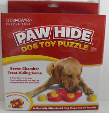 PAW HIDE - Dog Toy Puzzle (Seven Chamber Treat-Hiding Game (New) (DG40112)